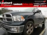 2011 Hunter Green Pearl Dodge Ram 1500 Big Horn Crew Cab #75924656