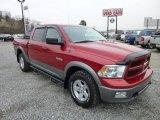 2010 Inferno Red Crystal Pearl Dodge Ram 1500 TRX4 Crew Cab 4x4 #75977783