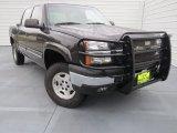 2005 Black Chevrolet Silverado 1500 Z71 Crew Cab 4x4 #75977549