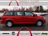 2013 Redline 2 Coat Pearl Dodge Grand Caravan American Value Package #75977344