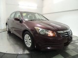 2011 Basque Red Pearl Honda Accord LX Sedan #75977778