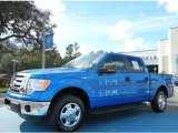 2012 Blue Flame Metallic Ford F150 XLT SuperCrew #75977457