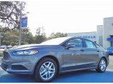 2013 Sterling Gray Metallic Ford Fusion SE 1.6 EcoBoost #75977446