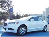 2013 Oxford White Ford Fusion SE #75977444