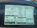 2013 Hyundai Genesis Coupe 2.0T R-Spec Window Sticker