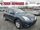 2013 Graphite Blue Nissan Rogue S Special Edition AWD #75977758