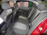 2007 Chevrolet Malibu LT Sedan Rear Seat