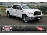2013 Super White Toyota Tundra CrewMax 4x4 #75977292