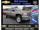 2013 Graystone Metallic Chevrolet Silverado 1500 LT Crew Cab 4x4 #75977840