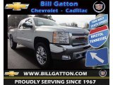 2013 Silver Ice Metallic Chevrolet Silverado 1500 LT Extended Cab 4x4 #75977839