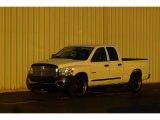 2008 Bright White Dodge Ram 1500 ST Quad Cab #75977630