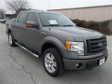 2010 Sterling Grey Metallic Ford F150 Lariat SuperCrew 4x4 #75977410