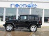2012 Black Jeep Wrangler Sahara 4x4 #75977498