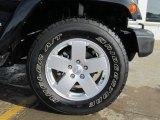 2012 Jeep Wrangler Sahara 4x4 Wheel