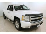 2008 Summit White Chevrolet Silverado 1500 LT Extended Cab #75977716
