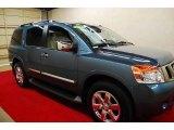 2012 Lakeshore Slate Blue Nissan Armada Platinum #75977488