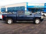 2010 Imperial Blue Metallic Chevrolet Silverado 1500 LT Crew Cab 4x4 #75977377