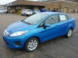 Blue Candy Ford Fiesta in 2013