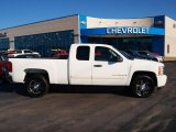 2008 Summit White Chevrolet Silverado 1500 LT Extended Cab #75977375