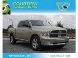 2011 White Gold Dodge Ram 1500 Big Horn Crew Cab #75977690