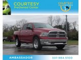 2010 Inferno Red Crystal Pearl Dodge Ram 1500 Big Horn Crew Cab 4x4 #75977688