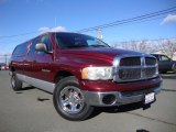 2003 Dark Garnet Red Pearl Dodge Ram 1500 SLT Quad Cab 4x4 #75977685