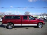 Dark Garnet Red Pearl Dodge Ram 1500 in 2003