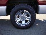 2003 Dodge Ram 1500 SLT Quad Cab 4x4 Wheel