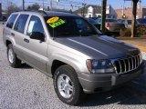 2002 Silverstone Metallic Jeep Grand Cherokee Laredo 4x4 #76018339