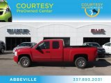 2007 Victory Red Chevrolet Silverado 1500 LT Extended Cab #76018210