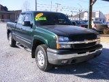 2004 Dark Green Metallic Chevrolet Silverado 1500 Z71 Extended Cab 4x4 #76018333