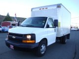 2009 Chevrolet Express Cutaway 3500 Commercial Moving Van Data, Info and Specs