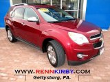 2010 Cardinal Red Metallic Chevrolet Equinox LTZ AWD #76018045