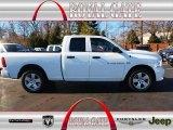 2012 Bright White Dodge Ram 1500 Express Quad Cab #76017634