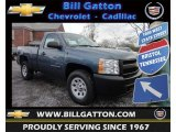 2013 Blue Granite Metallic Chevrolet Silverado 1500 Work Truck Regular Cab 4x4 #76018227