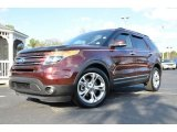 2011 Bordeaux Reserve Red Metallic Ford Explorer Limited #76018112