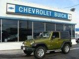 2010 Rescue Green Metallic Jeep Wrangler Sport 4x4 #76017753