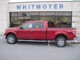 2013 Ruby Red Metallic Ford F150 XLT SuperCrew 4x4 #76018100