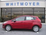 2013 Ruby Red Ford Fiesta SE Hatchback #76018098