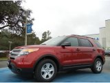 2013 Ruby Red Metallic Ford Explorer FWD #76017746