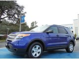 2013 Deep Impact Blue Metallic Ford Explorer EcoBoost #76017740