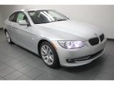 2013 Titanium Silver Metallic BMW 3 Series 328i Coupe #76017998