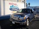 2011 Dark Blue Pearl Metallic Ford F150 XLT SuperCrew #76017727