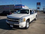 2011 Summit White Chevrolet Silverado 1500 LT Texas Edition Crew Cab 4x4 #76017726