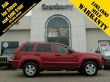 2006 Inferno Red Crystal Pearl Jeep Grand Cherokee Laredo 4x4 #7581075