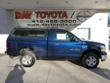 2006 Patriot Blue Pearl Dodge Ram 1500 SLT Regular Cab 4x4 #76071928