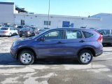 2013 Twilight Blue Metallic Honda CR-V LX AWD #76072435