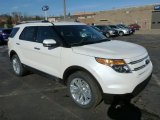 2013 White Platinum Tri-Coat Ford Explorer Limited 4WD #76072036