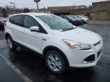 2013 White Platinum Metallic Tri-Coat Ford Escape SEL 2.0L EcoBoost 4WD #76072035