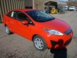 2013 Race Red Ford Fiesta SE Sedan #76072027